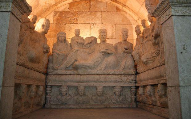 National Museum of Damascus Hypogeum_of_Yarhai