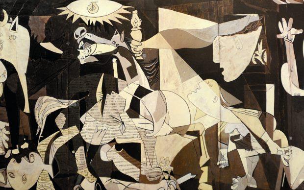 Pablo Picasso Guernica cartone arazzo
