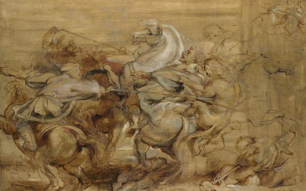Rubens schizzo a olio