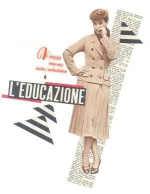 Maria Grazie Preda, Il nuovo segreto della seduzione - Mostra Collage Vintage