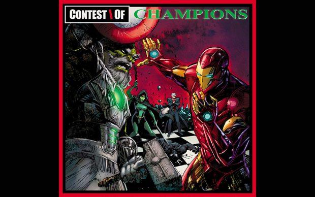 ironman contest_of_champions album variant cover ume