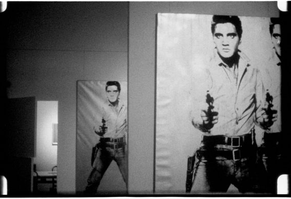 Andy Warhol, Elvis at Ferus, 1963 © 2018  The  Andy  Warhol  Museum,  Pittsburgh,  PA,  a  museum  of Carnegie  Institute. All rights  reserved.