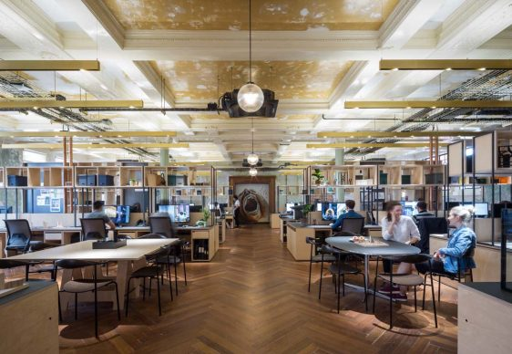 INSIDE World Festival of Interior - Vincitore Categoria Office: The Department Store, Londra di Squire and Partners - Credit: James Jones