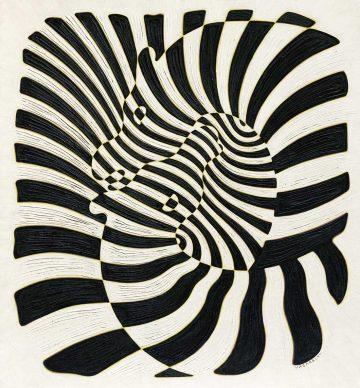 Victor Vasarely (1906–1997), Zèbres, 1932-1942, Collection HAR © VG Bild-Kunst, Bonn 201