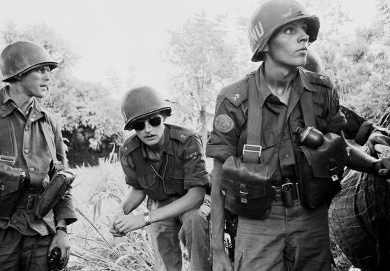 Pattuglia di soldati del contingente svedese delle Forze delle Nazioni Unite, Leopoldville, Congo, 1961 © courtesy UN Photo