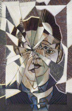 Victor Vasarely (1906–1997), Autoportrait, 1944, Galerie Philippe David, Zurich © VG Bild-Kunst, Bonn 2018 Photo: Galerie Philippe David, Zurich