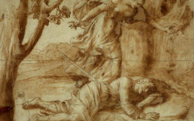 Alessandro Turchi, Piramo e Tisbe, 1625 circa. Verona, Musei Civici