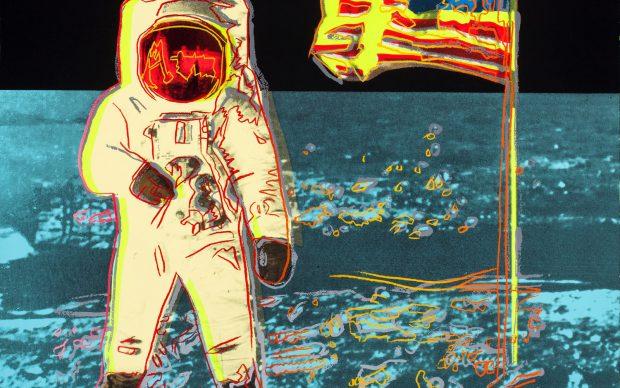 Andy Warhol Moonwalk
