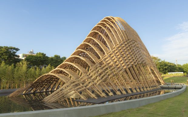 Bamboo Pavilion at Taichung World Flora Expo. Photo Business Wire