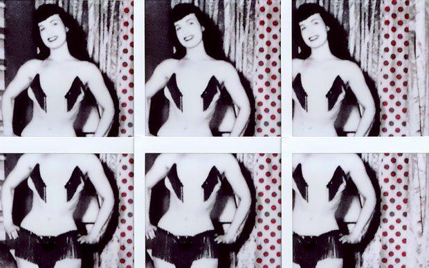 Betty Page by Maurizio Galimberti