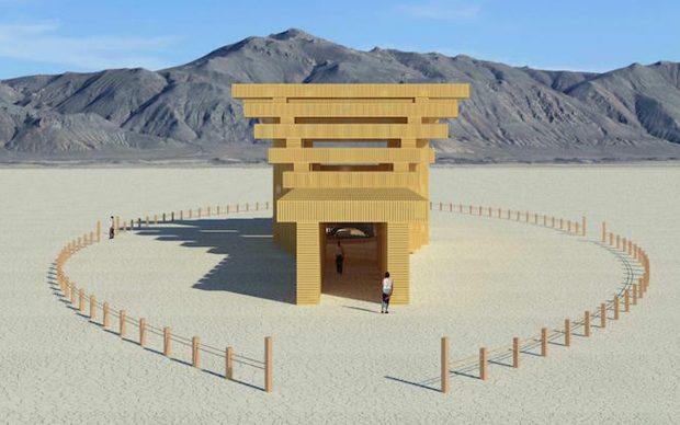 Burning Man 2019 Temple of Direction
