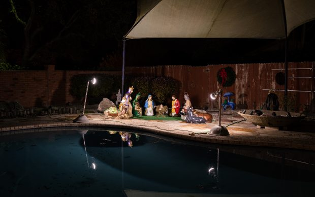 Christmas in America Happy Birthday Jesus fotografia Jesse Rieser