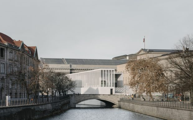 David Chipperfield, James Simon Gallery, Museum Island, Berlino