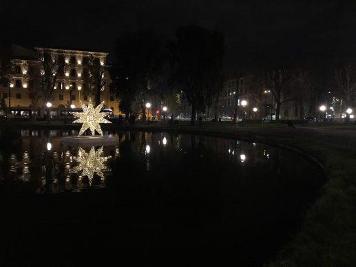 Firenze Light Festival 2018, Fontana della Fortezza – Foto Courtesy MUS.E Firenze