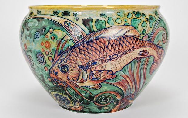 Galileo Chini, Cache pot con pesci, 1919-25 © Museo internazionale delle ceramiche di Faenza.jpg