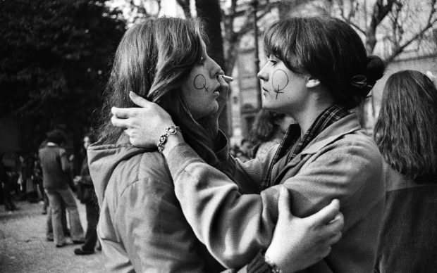 Paola Agosti, Roma, 8 marzo 1977 © Paola Agosti