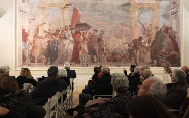 copie digitali affreschi di Tiepolo a Villa Pisani Contarini, Mira, Venezia