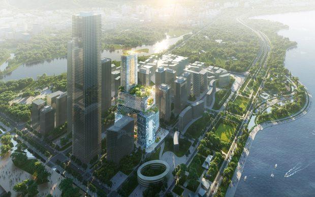 MVRDV Vanke 3D City Shenzen Cina