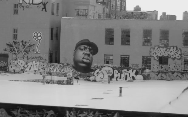 Murale nel Queens, New York, dedicato a Notorious B.I.G. Photo by Reporter d'ailleurs fonte Flickr