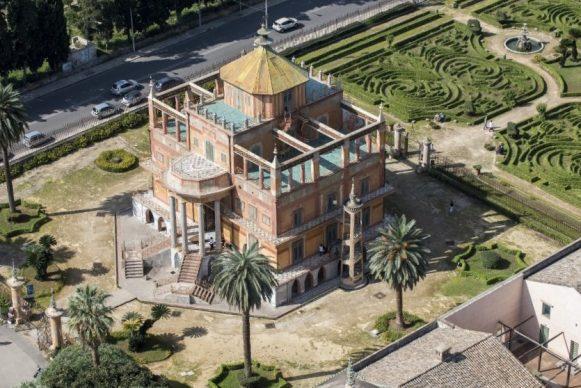 Luigi Nifosì, Sicilia, l'isola mai vista - Palermo, Palazzina Cinese