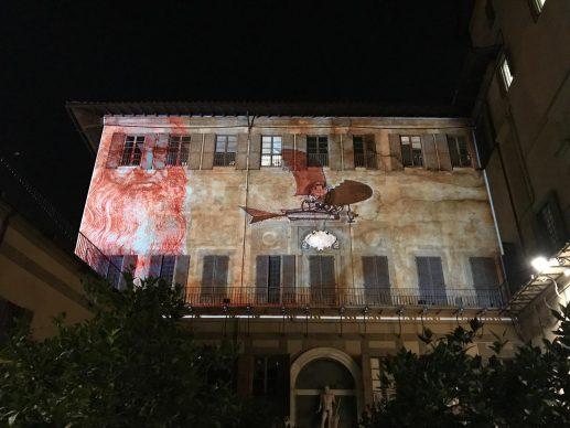 Firenze Light Festival 2018, Palazzo Medici Riccardi, Giardino – Foto Courtesy MUS.E Firenze