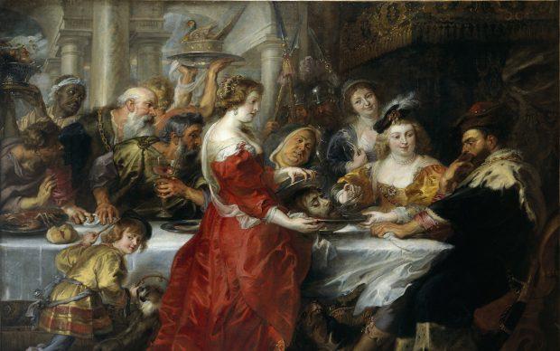 Rubens Salomè con la testa di San Giovanni Battista