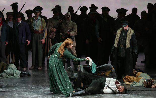 Saioa Hernandez e Ildar Abdrazakov in Attila di Giuseppe Verdi, Teatro Alla Scala, Milano, stagione lirica 2018-2019