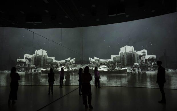Zero installazione immersiva introduzione Guggenheim Bilbao