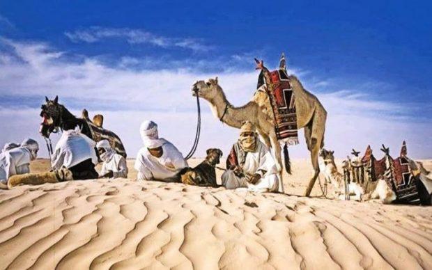 festival del sahara douz tunisia tribu nomadi