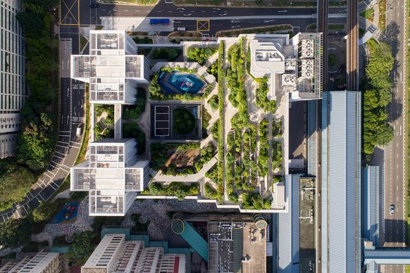 World Building of the Year 2018: Kampung Admiralty by WOHA - Photo by Patrick Bingham