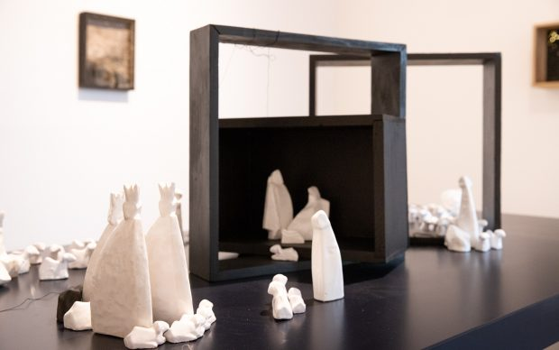 Maria Lai, presepe, Museo Novecento Firenze
