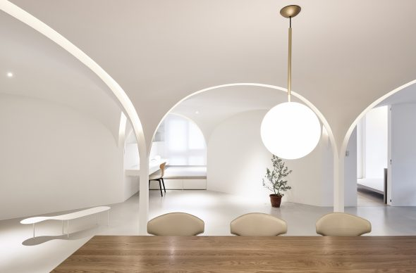 INSIDE World Festival of Interior - Vincitore Categoria Residential: Sunny Apartment, Taichung, Taiwan by Very Studio Che Wang Architects - Credit:  Studio Millspace, Te - Fan Wang, Very Studio | Che Wang Architects