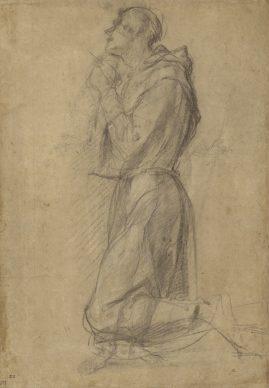 Pontormo (Jacopo Carucci), Saint Francis (recto); Dead Christ (verso). Credit: The J. Paul Getty Museum, Los Angeles
