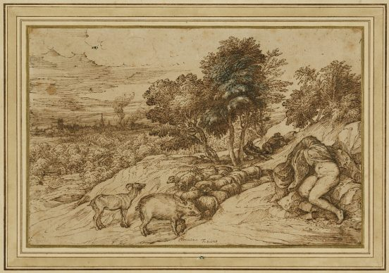 Tiziano Vecellio, Pastoral Scene, about 1565. Credit: The J. Paul Getty Museum, Los Angeles