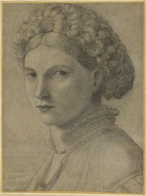 Attributed to Andrea Previtali; Portrait of a Young Woman. Credit: The J. Paul Getty Museum, Los Angeles