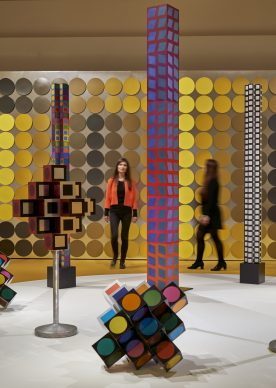 """Exhibition view """"Victor Vasarely. In the Labyrinth of Modernism"""". Photo: Städel Museum"""