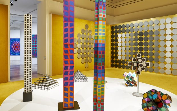 """Exhibition view """"Victor Vasarely. In the Labyrinth of Modernism"""" Photo: Städel Museum"""