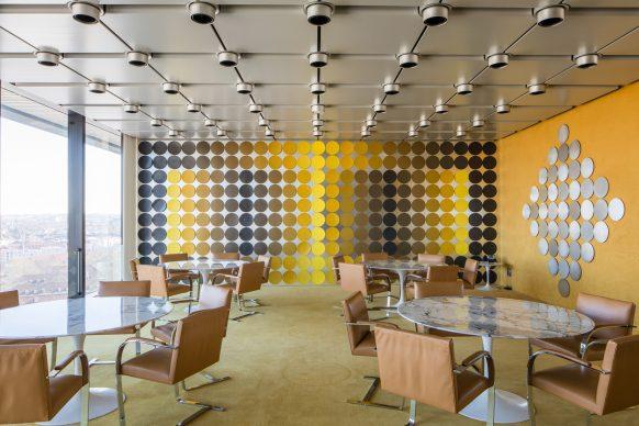 Victor Vasarely (1906–1997) and Yvaral (1934 – 2002), Dining Room, 1972, Art Collection Deutsche Bundesbank, Frankfurt am Main © VG Bild-Kunst, Bonn 2018 Photo: Wolfgang Guenzel