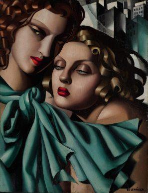 Tamara de Lempicka, The young girls