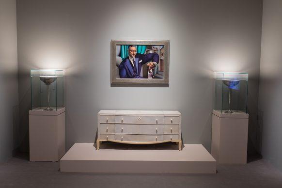 Tamara de Lempicka. Reina del Art Déco - Vista dell'allestimento - Foto Jesús Varillas
