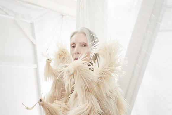 Iris van Herpen, Wilderness Embodied, haute couture collection winter 2013. Petrovsky & Ramone (photo), Maarten Spruyt (art direction) for Gemeentemuseum Den Haag. Courtesy Iris van Herpen
