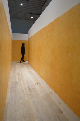 "Miroslaw Balka, Soap Corridor, 1993 / 2018. Courtesy: White Cube, London. Installation view: ""Catastrophe and the Power of Art,"" Mori Art Museum, Tokyo, 2018. Photo: Kioku Keizo. Photo courtesy: Mori Art Museum, Tokyo"