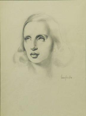 Tamara de Lempicka, Autorretrato, 1939 - Colección Anne y Richard Paddy, EE.UU.
