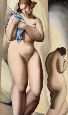 Tamara de Lempicka, Dos desnudos en perspectiva, 1925 - Mr Miroslav Melnik
