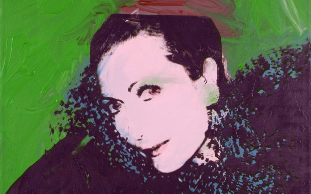 Andy Warhol, Ritratto di Hélène Rochas, 1975