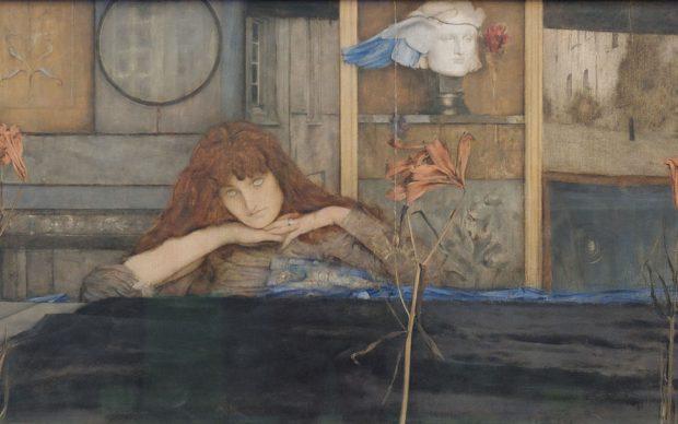 I_lock_my_door_upon_myself_Fernand_Khnopff_1891