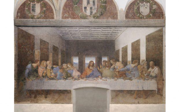 Leonardo da Vinci, Ultima Cena, Santa Maria delle Grazie, Milano