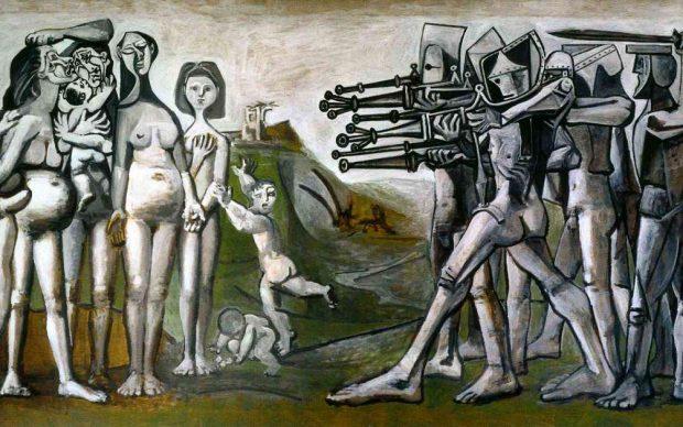 Pablo Picasso, Massacre en Korea, 1951