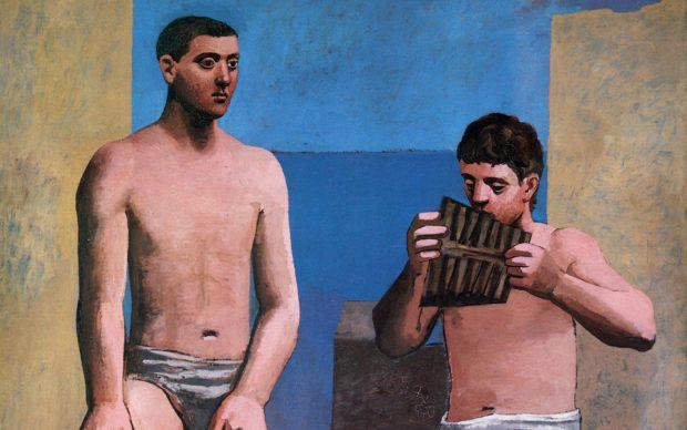 Picasso flauti di Pan