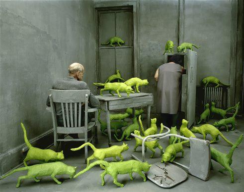 Sandy Skoglund, Radioactive Cats, 1980. Collezione Molgora/Molgora collection, Brescia Courtesy Paci contemporary gallery (Brescia – Porto Cervo, IT)